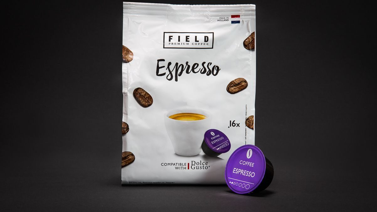 ESPRESSO  Dolce Gusto ТМ «FIELD  Premium coffee»