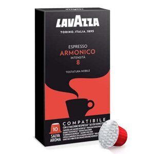 Lavazza Vigoroso (Лавацца Вигоросо) кофе в капсулах для кофемашин Nespresso