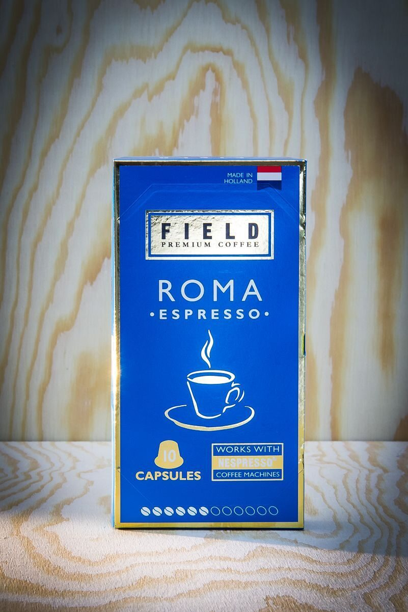 ESPRESSO ROMA Nespresso ТМ «FIELD  Premium coffee»